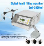 Filling machine digital control liquid small portable electric water 5-3500ml
