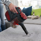 Bagless vacuum cleaner fineter handheld floor mop with 5 attachments extension tube for multiple surfaces lightweight corded
