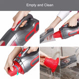 Vacuum cleaner bx350 household lightweight handheld 120w with motorized brush cleaning appliance for carpet car bed