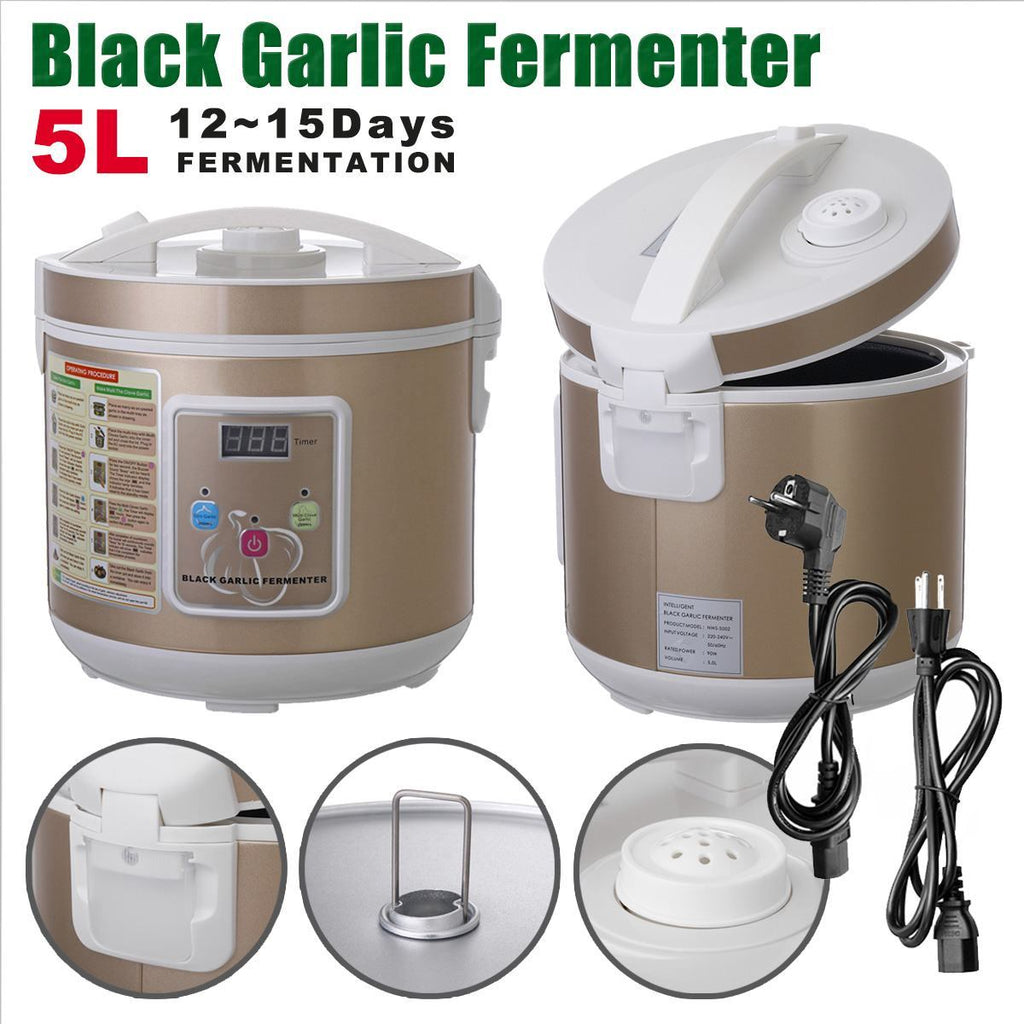 Automatic fermenter 5l 220v/110v timing garlic box maker saving power