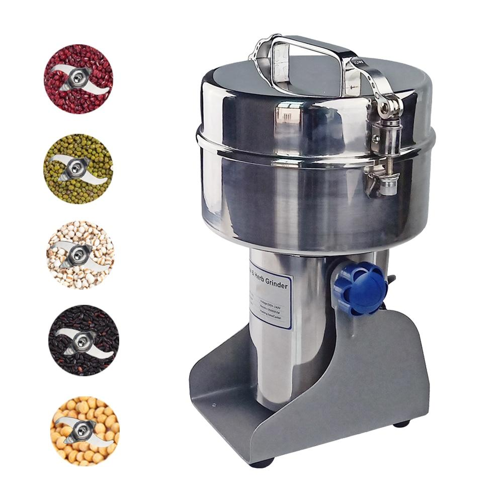 Automatic grinder electric home use stainless steel machine for grill grain herbals spices coffee cereal beans etc