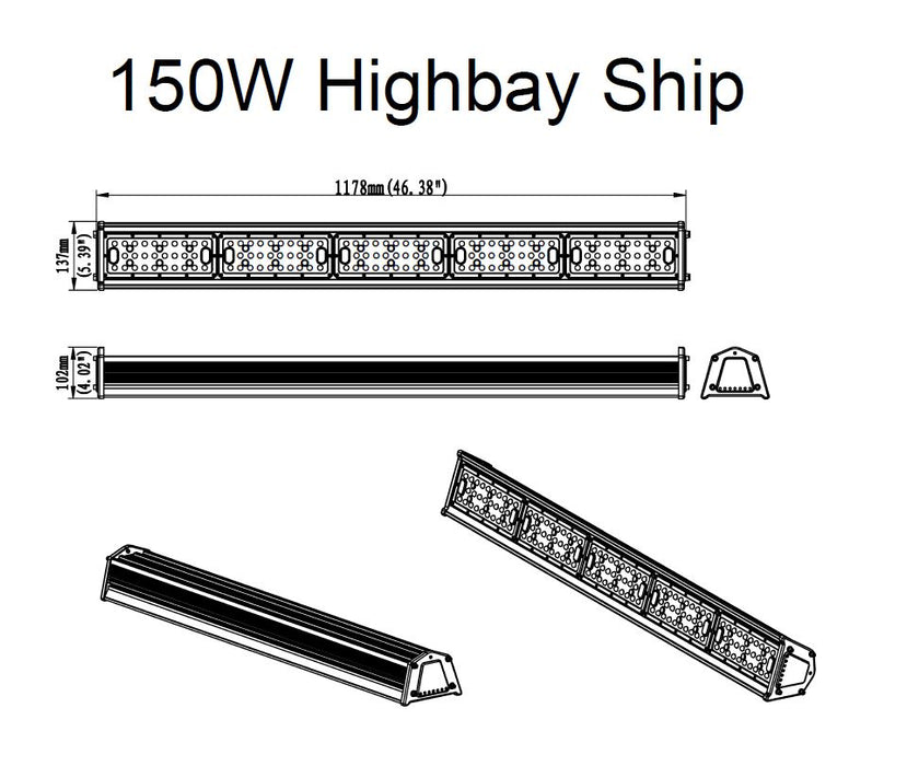 LEDVISION™ Highbay Ship 150W