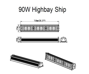 LEDVISION™ Highbay Ship 90W