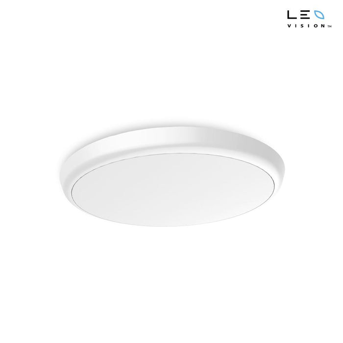 18W LEDVISION™ Deckenlampe Ø 300mm, 120°, IP55