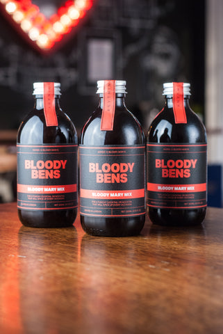 Bloody Mary Mix  - Triple Pack (Three 300ml Bottles) - BloodyBens