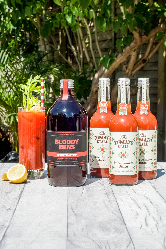 Large Bloody Mary Mix with Triple Tomato Juice Pack - BloodyBens
