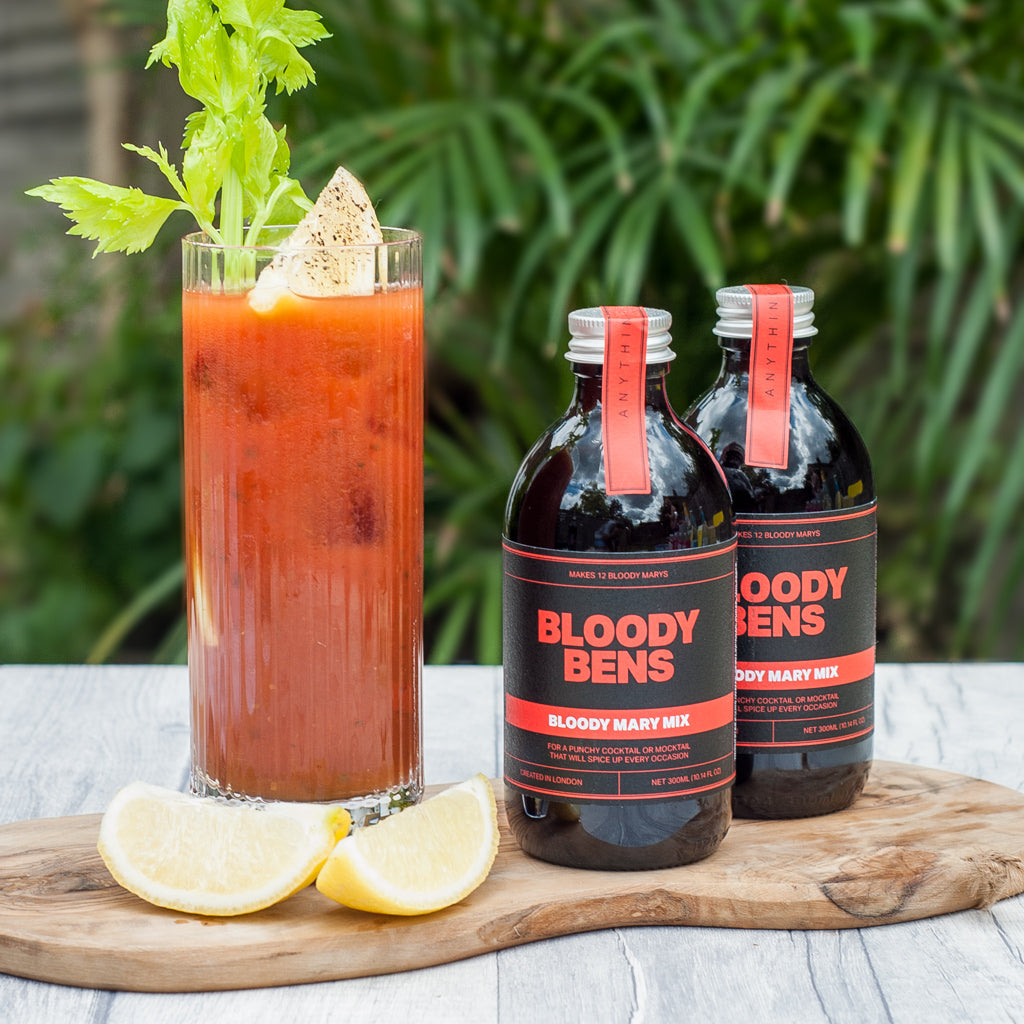 Bloody Mary Mix  - Twin Pack (Two 300ml Bottles) - BloodyBens