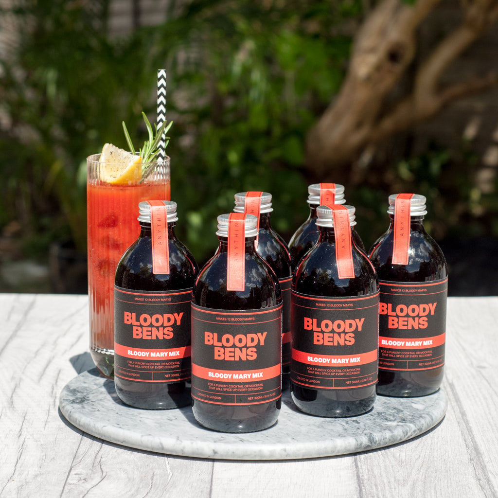 Bloody Mary Mix  - 6 Pack (Six 300ml Bottles) - BloodyBens