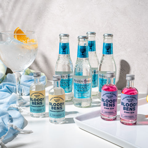 A Little Cheer - 4 Mini Gin & Tonic Gift Pack - BloodyBens