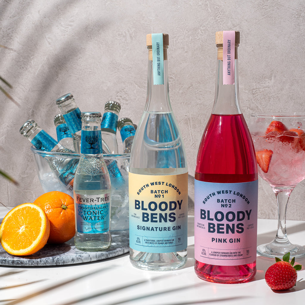 Lockdown Gin Pack with 6 tonic - BloodyBens