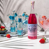 Trade Price: Bloody Bens Pink Gin - 70CL Bottle - Case of Six - BloodyBens