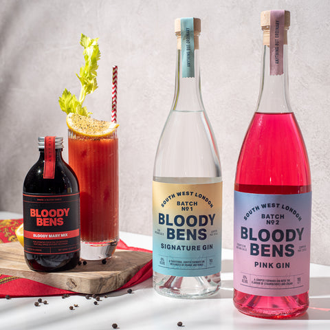 Bloody Bens Gin & Bloody Mary Mix Collection - BloodyBens