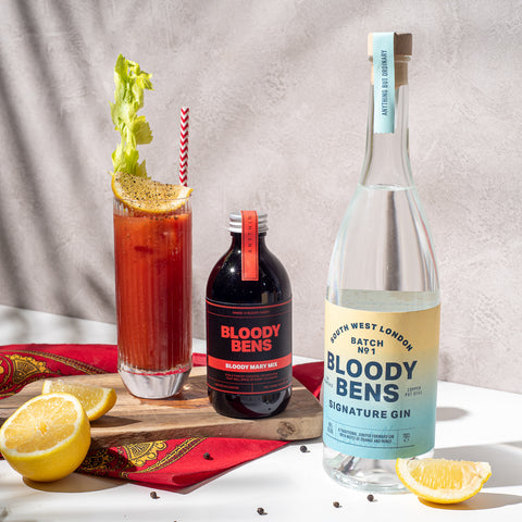 Bloody Bens Gin and Bloody Mary Mix twin pack - BloodyBens