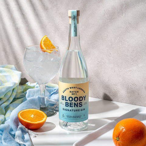 Bloody Bens Signature Gin - 70CL Bottle - BloodyBens