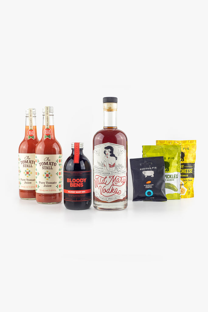 Wild Mary & Bloody Bens super Bloody Mary kit and snack pack - BloodyBens