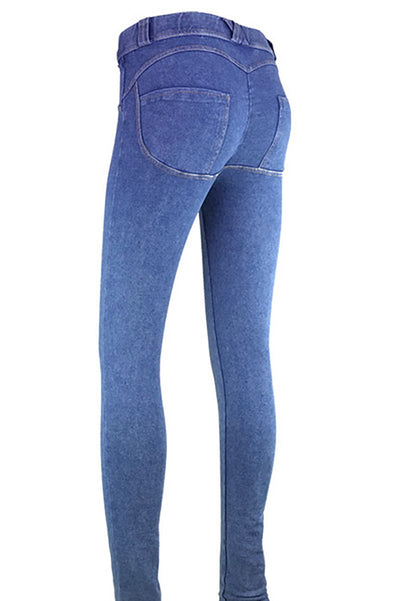 Jeans Push Up a Vita Bassa