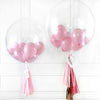 Mixed Red Bubble Balloon