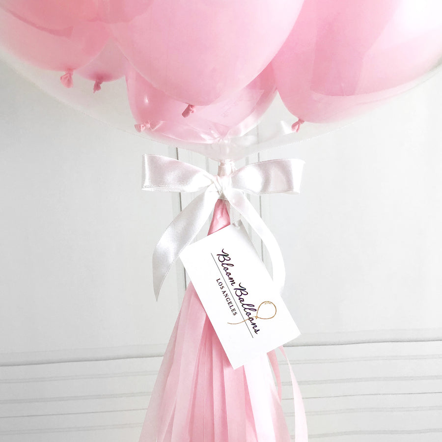 Pink Graduation Bubble Balloon