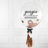 Bridesmaid Confetti Bubble Balloon