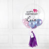 Purple Pearl Bubble Balloon