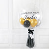 Silver Gold Mini Bubble Balloon