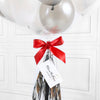 Silver Wedding Mini Bubble Balloon