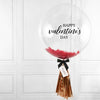 Valentine's Feather Bubble Balloon
