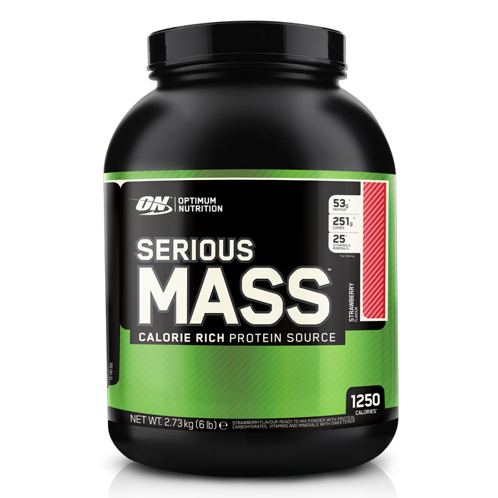 Optimum Nutrition Serious Mass - 2.7 kg Strawberry