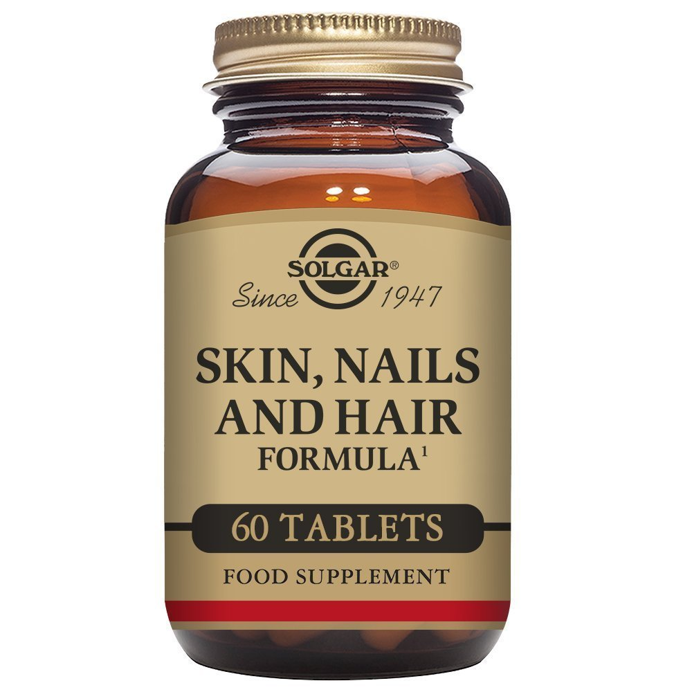 Solgar Skin, Nails and Hair Formula Tablets, Pack of 60