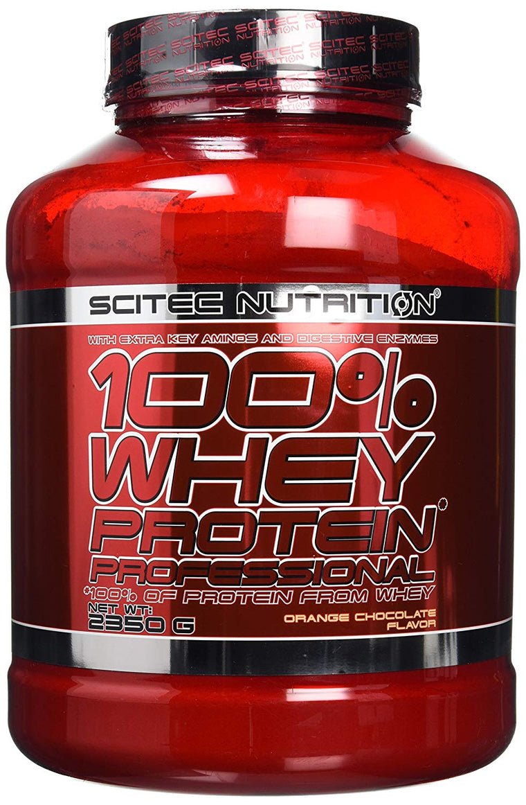 Scitec Whey Protein Prof 2350g Orange-Chocolate