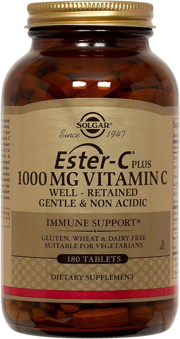 Solgar Ester C Plus 1000mg Vitamin C - 180 E1053