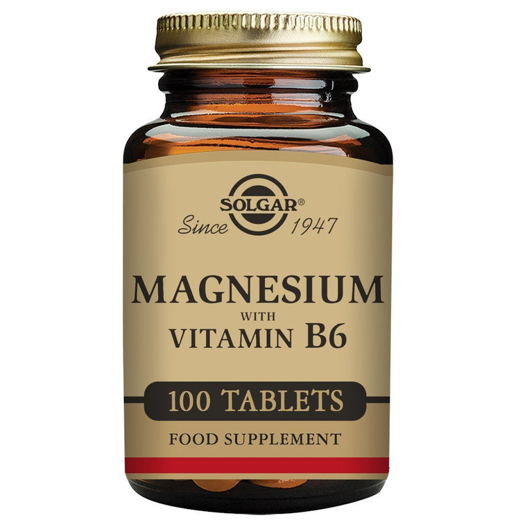 Solgar Magnesium With Vitamin B6 - 100 E1720