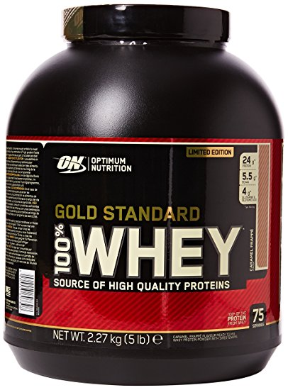 Optimum Nutrition Gold Standard Whey 2.2kg - French Vanilla