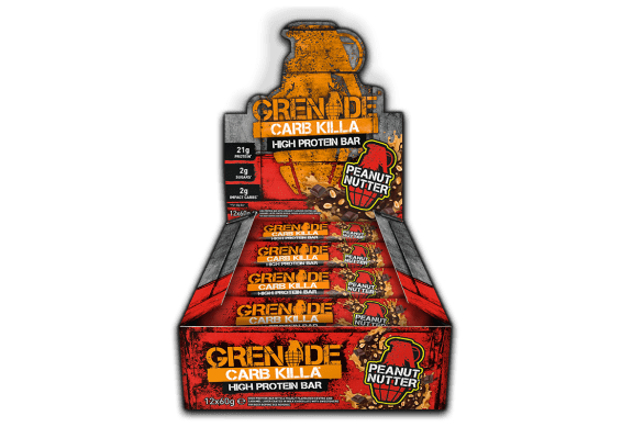 Grenade Carb Killa Bars - Jaffa Quake