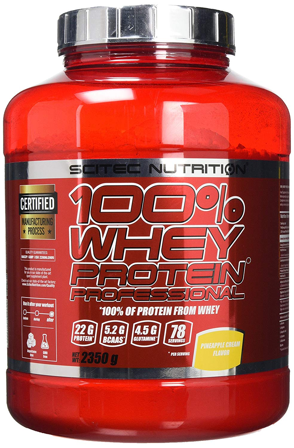 Scitec Whey Protein Prof 2350g Pineapple Cream