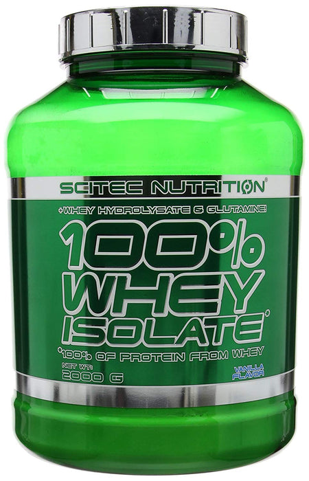Scitec Nutrition 100% Whey Isolate Powder - 2000g, All Flavours