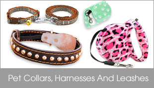 Pet Collars, Harnesses And Leashes