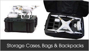 DJI Storage Cases, Bags and Backpacks