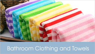 Bathroom Clothing and Towels