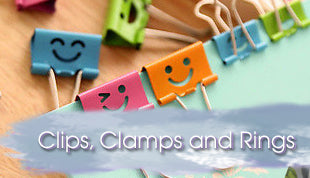 Clips, Clamps and Rings