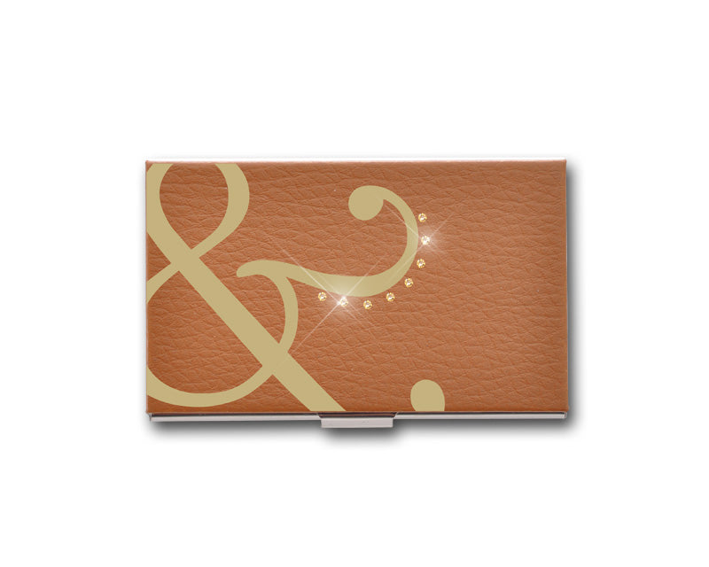 Ampersand Bling Swarovski Crystal Card Case