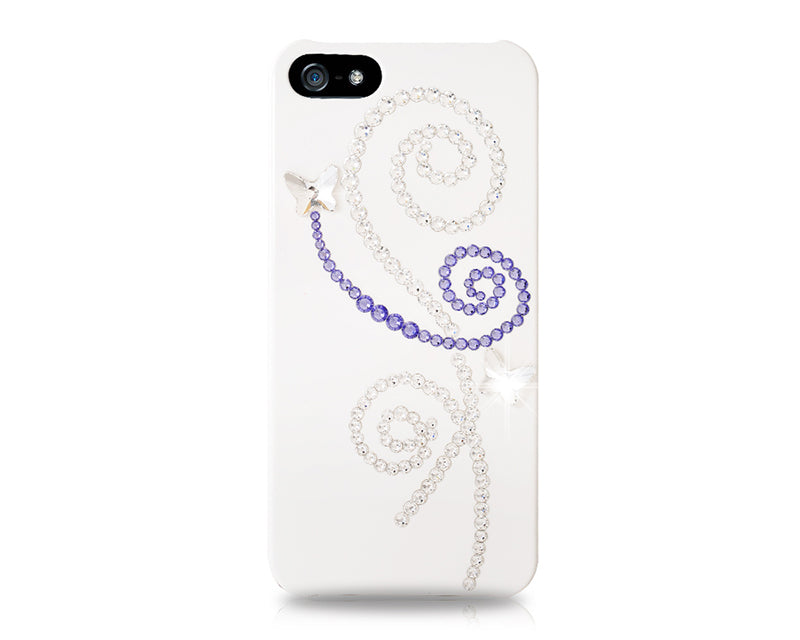 Butterfly Shadow Bling Swarovski Crystal Phone Cases