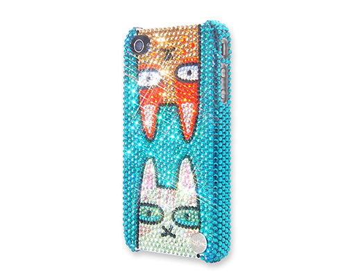 Catty Twins Bling Swarovski Crystal Phone Cases