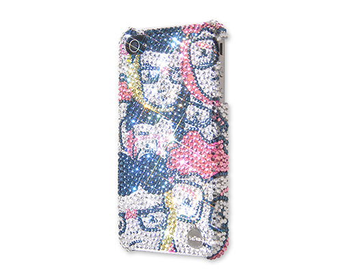 A+ Team Bling Swarovski Crystal Phone Cases