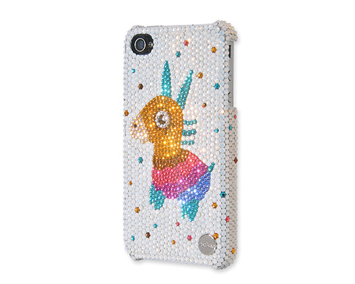 Cute Rudolf Bling Swarovski Crystal Phone Cases