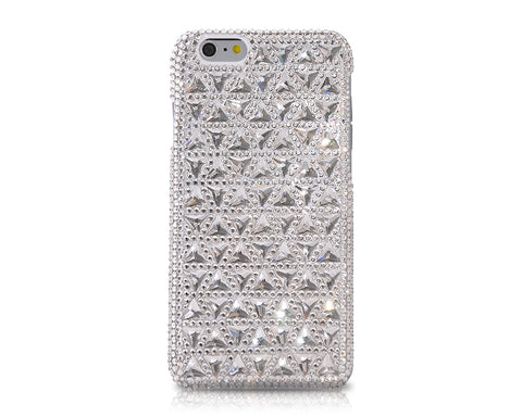 Cubical Triangular Bling Swarovski Crystal Phone Cases