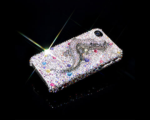 Reptile Bling Swarovski Crystal Phone Cases