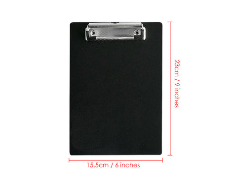 Memo Size Clipboard A5 Paper Clip Boards with Low Clip