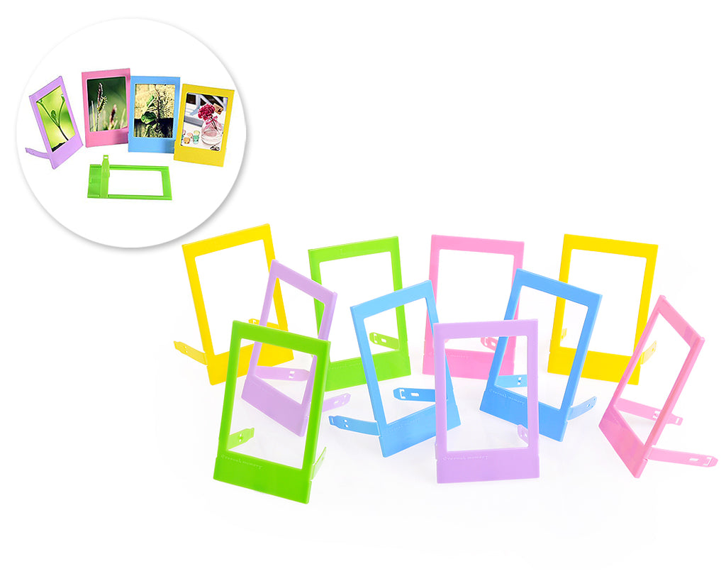 10 Pcs 3 Inch Mini Photo Frames Set for Fujifilm Instax Mini Films