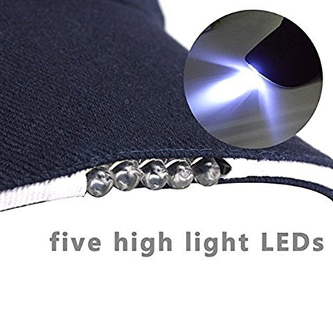 Hands Free LED Baseball Cap